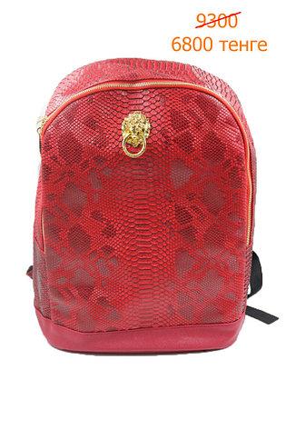 Рюкзак красный крокодил, фото 2