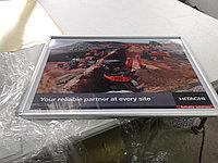 Рамка для постера (из алюминиевого клик-профиля) 80*60см