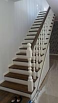 Реставрация старых деревянных лестниц в коттеджах, фото 2