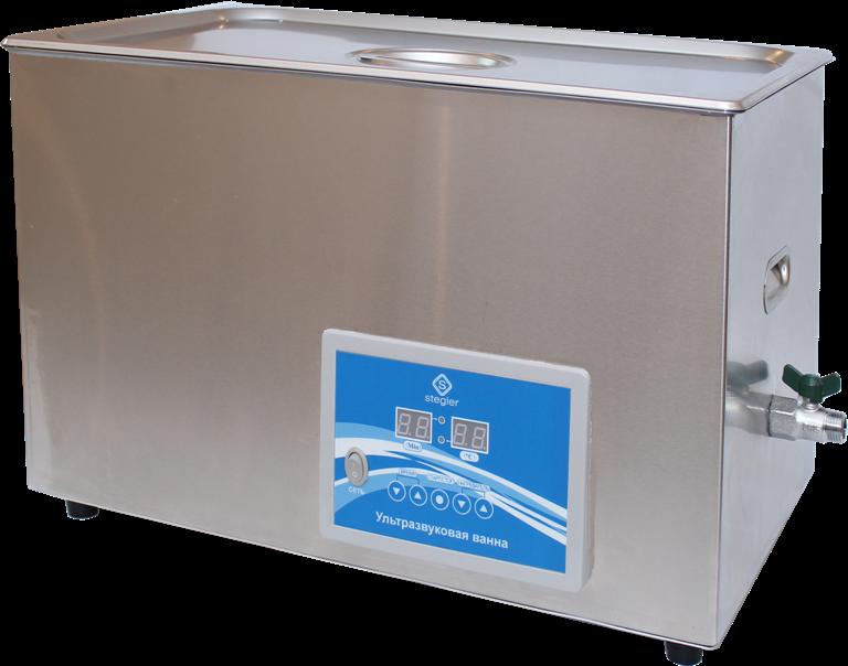 Ультразвуковая ванна (мойка) 30DT (30 л., 20-80°C, 720W))