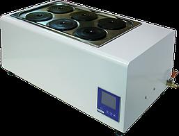 Баня водяная лабораторная ТБ-6А (6-мест, до 100°С)