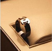 Кольцо Chanel из черного титана