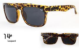 Солнцезащитные очки SPY+  леопардовые