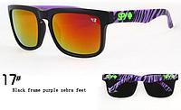 Солнцезащитные очки SPY+ сиреневая зебра