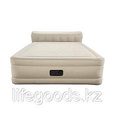 Двуспальная надувная кровать со спинкой и встроенным насосом, Bestway 69019, фото 2