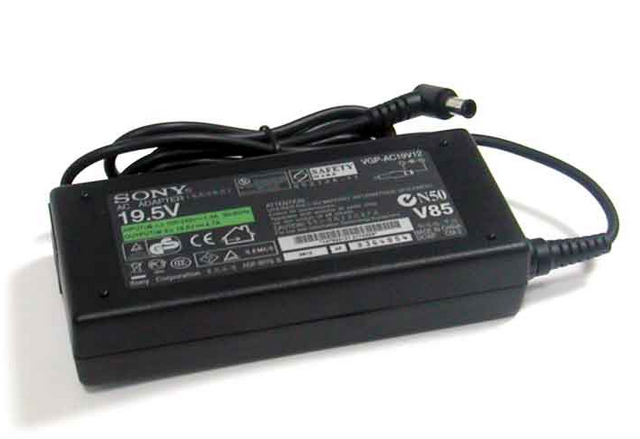 Блок питания для ноутбука Sony, 19.5V 4.74A, 92W, 6.5x4.3 mm