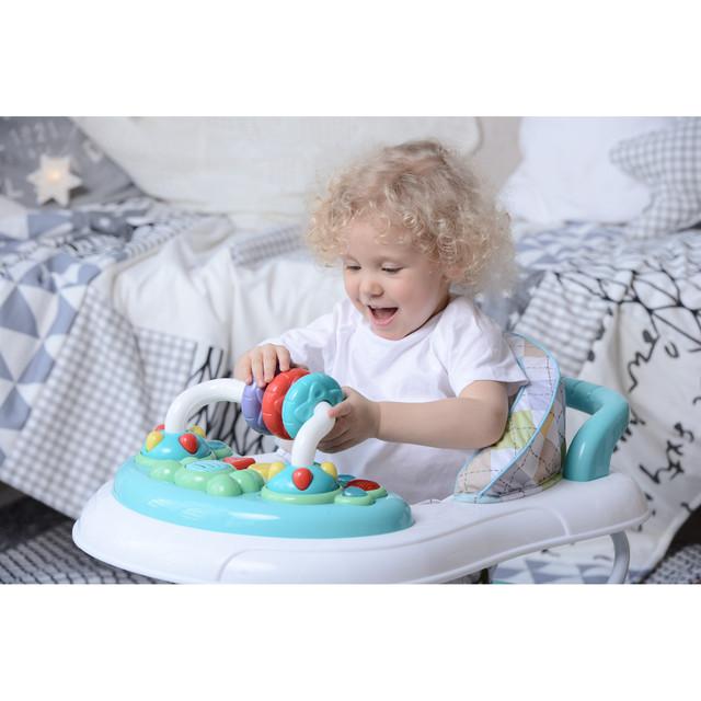 Ходунки детские Happy baby Smiley V2 Brown