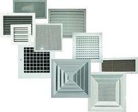 Вентиляционные алюминиевые реш...