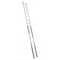 Алюминиевая лестница 1х17 Н=4,76/5,86м (5117)
