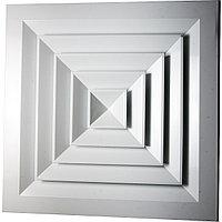 Диффузор потолочный квадратный не регулируемый типа RAD ( РАД ) 150 х 150