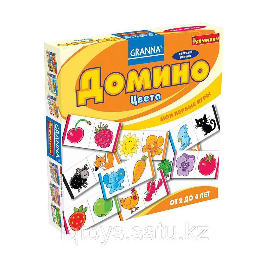 Настольная игра Домино Цвета  BONDIBON