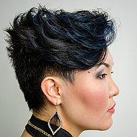 Укладки на короткий волос