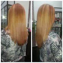 Укладки на среднюю длину волос