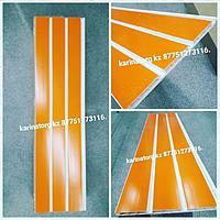 Эконом панель Евро пластиковая оранжевая