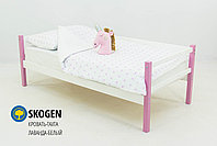 """Детская деревянная кровать-тахта Бельмарко""""Skogen лаванда-белый"""" , фото 2"""