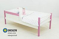 """Детская деревянная кровать-тахта Бельмарко""""Skogen лаванда-белый"""" , фото 3"""