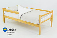 """Детская деревянная кровать-тахта Бельмарко""""Skogen дерево"""", фото 2"""
