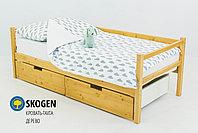 """Детская деревянная кровать-тахта Бельмарко""""Skogen дерево"""", фото 3"""