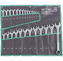Набор ключей комбинированных 6-32 мм, 26 шт., CrV, матовый хром 15431 (002)
