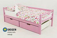 """Детская деревянная кровать-тахта Бельмарко""""Skogen лаванда"""", фото 2"""