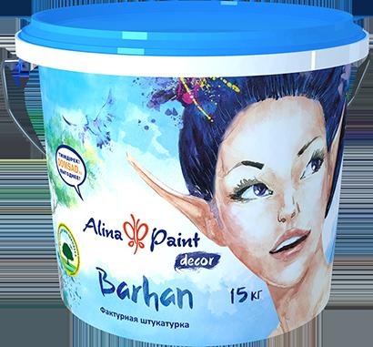 Декоративная штукатурка Barhan 25 кг  купить в Павлодаре