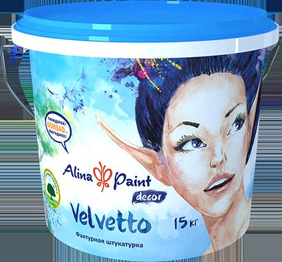 Декоративная штукатурка Velvetto 3 кг