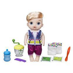 Интерактивная кукла Baby Alive  Sweet Spoonfuls Blonde Baby Doll Boy