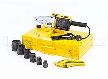 Аппарат для сварки пластиковых труб DWP-1500, 1500Вт, 260-300 град. компл насадок,20-63 мм 94205 (002)