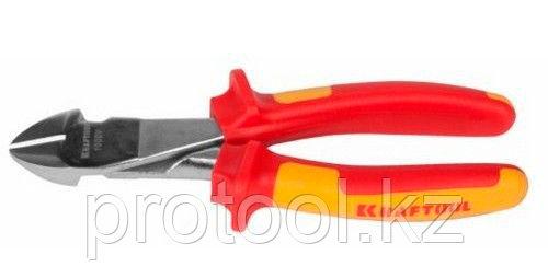 """Бокорезы """"ELECTRO-KRAFT"""" усиленные, Cr-Mo сталь, двухкомпонентная маслобензостойкая рукоятка"""