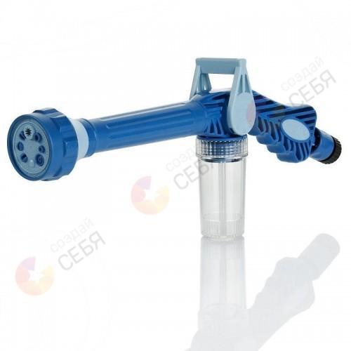 Распылитель на шланг с емкостью для шампуня Ez Jet Water Cannon