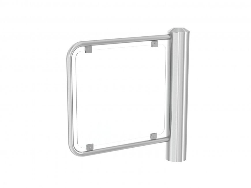 Водонепроницаемая калитка в панелью из закаленного стекла PEGAS SF-S