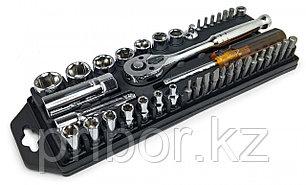 Pro'skit 8PK-227 Набор торцевых головок и насадок-отверток с рукояткой-трещоткой  (40 шт.)