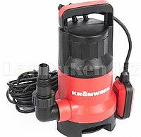 Дренажный насос для грязной воды KP800, 800 Вт, подъем 8 м, 13000 л/ч 97232 (002)