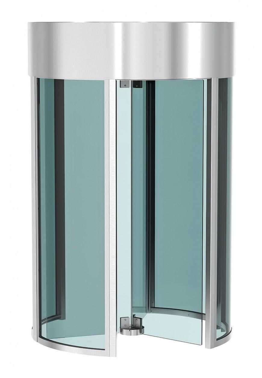 Полноростовой турникет с канапе и боковыми панелями из стекла REXON Glass