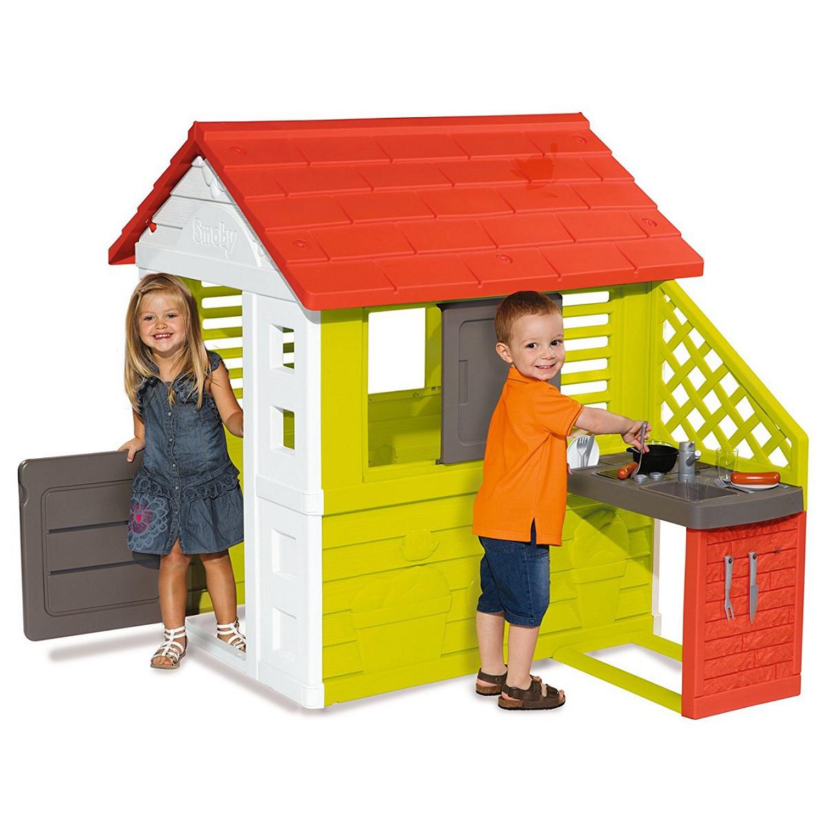 Smoby Игровой домик с кухней