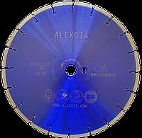 Сегментный алмазный диск по бетону 350 мм ALEXDIA