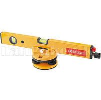Уровень лазерный, 400 мм, 850 мм штатив, 3 глазка, (база, 2 линзы, очки) в пласт. Боксе 35027 (002)