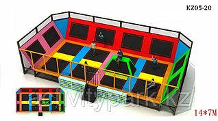 Батутная арена для развлекательного комплекса