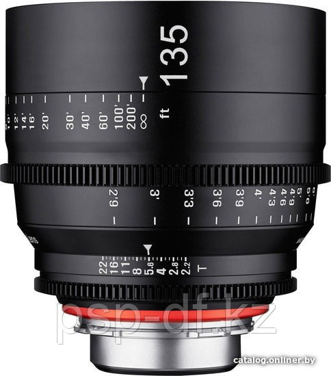 Samyang Xeen 135mm T2.2 Lens with Canon EF