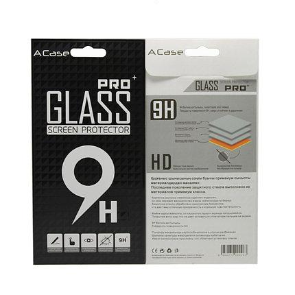 Защитное стекло Samsung A7 2017, A720 2017, Окантовка Black A-Case, фото 2