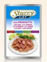 STUZZY CAT 100г с ветчиной Консервы для кошек