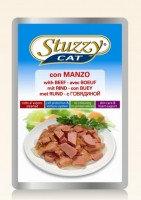 STUZZY CAT 100г с говядиной Консервы для кошек