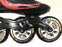 Спортивные роликовые коньки для спидскейта Inline Patins (37,38,39,40 размеры), фото 3