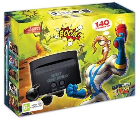 Игровая Приставка Sega Super Drive Earthworm Jim (140-in-1)