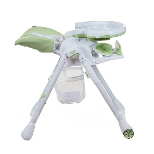 PITUSO Стул для кормления ELCANTO ECO кожа Light green/Светло-зеленый