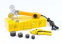 Аппарат для сварки пластиковых труб DWP-750, 750Вт, 260-300 град.,компл насадок, 20 - 40 мм 94203 (002)