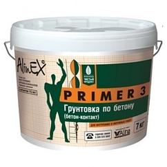 Грунтовка по бетону Primer-3  15 кг купить в Павлодаре