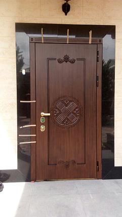 Реставрация входной двери из дерева, фото 2