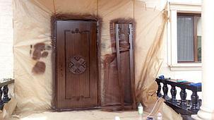 Покраска дверей, фото 2