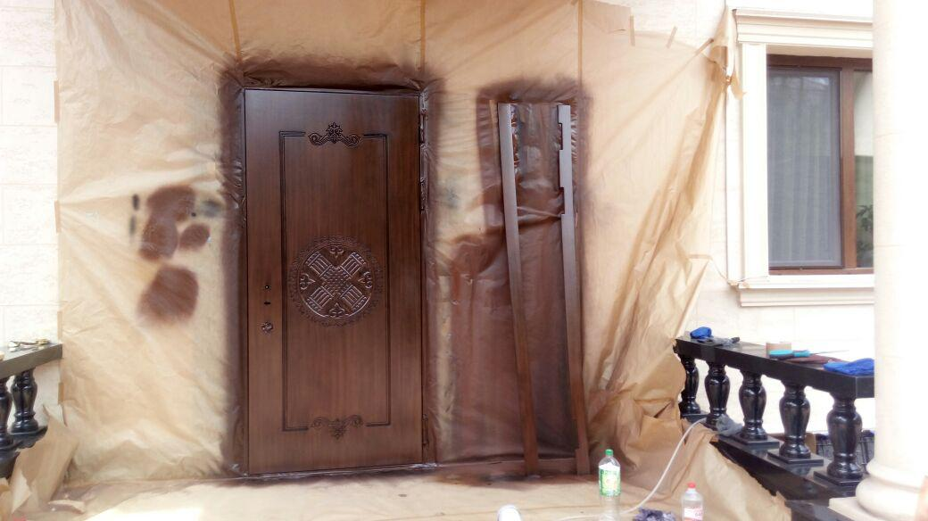 Лакировка и покраска дверей